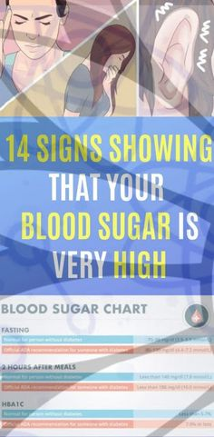 14 Signs Showing That Your Blood Sugar Is Very High Glucose is the main energy source for the human body. The glucose amount in the blood is indicated by the levels of sugar. When we eat, glucose enters our body and it is delivered to our body cells. Blood Sugar Chart, Blood Sugar Diet, Reduce Blood Sugar, High Blood Sugar Symptoms, Blood Sugar Solution, How To Control Sugar, High Glucose, Type 2 Diabetes Treatment, High Blood Sugar Levels