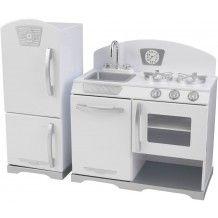 kidkraft uptown kitchen, white kidkraft http://www.amazon.com/dp ... - Kidkraft Weiße Retro Küche 53208