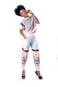 www.tamaraheraclio.com Croap top + pants = Millie