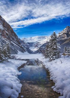 dranilj1:  A Beautiful Sunny Afternoon in Lake Louise