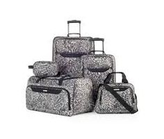 Tag Springfield III Print 5 Piece Luggage Set, Only at Macy's - Luggage Sets - luggage & backpacks - Macy's Luggage Backpack, Suitcase Bag, Travel Luggage, Spinner Suitcase, Cheap Luggage, Luggage Sets, Samsonite Luggage, Big Bags, Tags