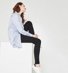 Leggings+unis+Femme