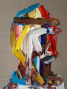 Love this Erik Olson painting. The colours + texture overload is killing me with its awesomeness.
