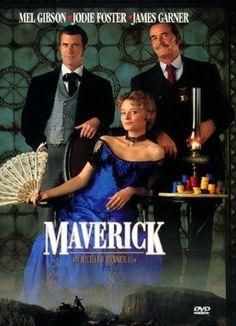 Maverick  1994 USA      Jetzt bei Amazon Kaufen Jetzt als Blu-ray oder DVD bei Amazon.de bestellen  IMDB Rating 6,9 (52.542)  Darsteller: Mel Gibson, Jodie Foster, James Garner, Graham Greene, Alfred Molina,  Genre: Action, Adventure, Comedy,  FSK: 12