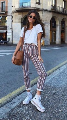 Outfits and flat lays we fell in love with. See more ideas about Casual outfits, Cute outfits and Fashion outfits. Fashion Trends, Latest Fashion Ideas and Style Tips. Casual Summer Outfits, Spring Outfits, Winter Outfits, Cute Outfits, Casual Fall, Unique Outfits, Women's Casual, Work Outfits, Outfit Ideas Summer
