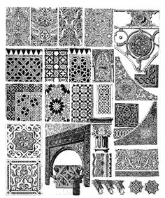 The history and characteristic designs of Spanish furniture. Cute Fonts, Collage, Southern Italy, Islamic Architecture, Spanish Style, Tile Patterns, Wood Carving, Furniture Decor, Angles