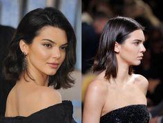 Kendall Jenner Braun schwarz Haare Farben für den winter