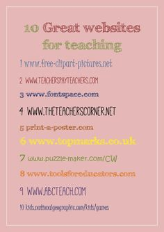 Great Teaching Ideas