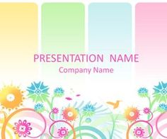 Colorful PowerPoint template with an illustration of pastel swirly flowers, hummingbird, and butterflies. Slide Background, Theme Background, Free Powerpoint Templates Download, Mental Maths Worksheets, Free Printable Stationery, Powerpoint Background Design, Creative Thinking, Pastel, Presentation Templates