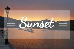 Bienvenue sur mon tableau Sunset. Mes photos de couchers de soleil ici et là sur la planète