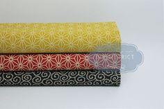 Coupons tissus Japonais traditionnels.