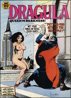I Love Pin-ups - brudesworld: Frazetta's mock cover for Dragula,...
