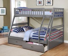 Twin over Full Bunk Bed w/ Storage  - Castanet Classifieds