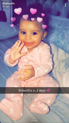 Lil goddess in training 💜💜💛💛 Cute Little Baby, Pretty Baby, Little Babies, Baby Kids, Beautiful Black Babies, Beautiful Children, Cute Mixed Babies, Cute Babies, Cute Baby Videos