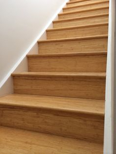 Bamboo Flooring On Stairs