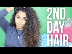 How To Refresh Curly Hair - YouTube Add your conditioner to spray bottle of water to wet it down before adding leave in conditioner / mousse