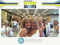 Ready for the white party at the Nerium Get Real 2013 Conference. #nerium
