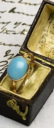 Jane Austen's Cabochon Ring