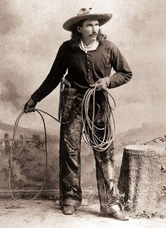 Buck Taylor, King of the Cowboys with Buffalo Bill's Wild West Show, via True West Magazine