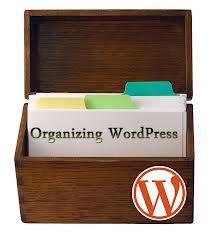 Organizing Word Press Blogs