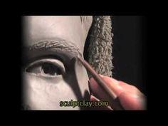 How to Sculpt the Portrait in Clay - sculptclay.com