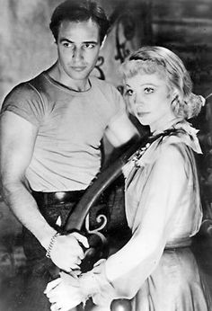 Marlon Brando and Vivien Leigh: A STREETCAR NAMED DESIRE 1951