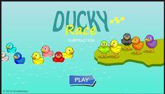 Juego de resta http://www.arcademicskillbuilders.com/games/ducky-race/ducky-race.html
