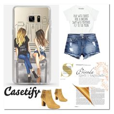 """Casetify 11"" by binche ❤ liked on Polyvore featuring H&M and Tabitha Simmons"