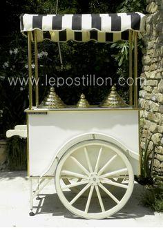 chariot à glace carrettino gelati ice cream cart