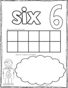 My Counting Book: Printable Counting Book for counting and number sense. 2 versions available. $