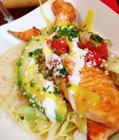 Eat Chow- salmon tacos