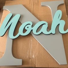 Wood Name Sign, Wood Names, Hanging Letters, Wood Letters, Baby Name Signs, Baby Names, Time Painting, Nursery Design, Aprons