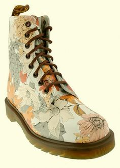 Wootocracy is the place to play & inventorize with everything you own. Check out this product, and be it's brand ambassador! Brand Ambassador, Dr. Martens, Combat Boots, Floral Prints, Play, Check, Shoes, Fashion, Moda