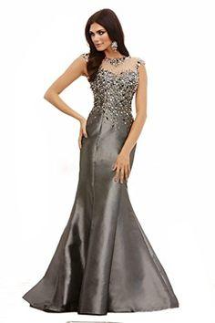Ikerenwedding Women's Rhinestone Beaded V-backless Formal Mermaid Prom Dress Evening Gown Grey US2 Ikerenwedding http://www.amazon.com/dp/B0172QCXNQ/ref=cm_sw_r_pi_dp_HIapwb1Q36J8N