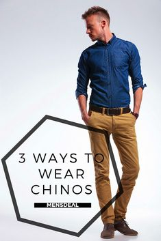 Today, Is all about the Chino. I'm going to show you 3 different looks, to give you a little bit of inspiration or some ideas and to show you the versatility of these amazing pants. https://mensdeal.com/3-ways-wear-chinos-chino-tutorial/