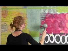 A colorful glimpse into the painting process of artist Addie Lynn Rementer. The camera captures the evolution of a painting from start to finish showing the . Painting Videos, Painting & Drawing, Painting Process, Expressive Art, Encaustic Art, Teaching Art, Art Techniques, Art Studios, Artist At Work