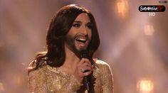 La feliz historia de  Conchita Wurst en Eurovisión. ¡Maravillosa!