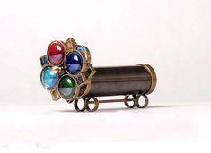 kaleidoscope+wheel+designs | ... Flower Wheels Kaleidoscope, steampunk kaleidoscope, christmas gift