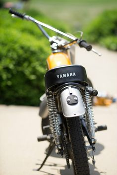 1970 #Yamaha HT1 90cc #Enduro #motorcycle Yamaha HT1 90cc Enduro