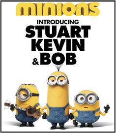 Saturday, September 10 at 10 a.m.:  Minions (2015) Minions Stuart, Kevin and Bob are recruited by Scarlet Overkill, a super-villain who, alongside her inventor husband Herb, hatches a plot to take over the world.  (Rated PG; 91 minutes)