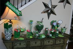 Candy buffet for St Patrick's Day