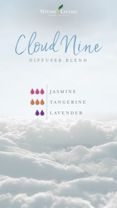 7 reasons to have a crush on Jasmine essential oil : Happy days are here to stay, so boost your mood and get on Cloud Nine with this diffuser blend that combines Jasmine, Lavender, and Tangerine essential oils.
