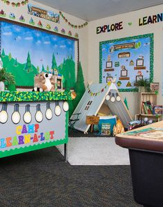 Whether you are looking for a classic woodland look, or ready to jump into an adventure with Ranger Rick, this theme will help bring the great outdoors to your classroom. Your students will be happy campers with Ranger Rick and is adorable animal friends.