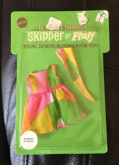 Barbie Teen Fashion Paks - Skimmer 'N Scarf