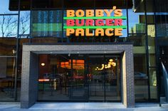 Bobby Flay - BBP Dallas Burger, Onion Rings and the best chocolate milk shake!