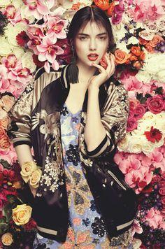 wall flower fashion - Google Search