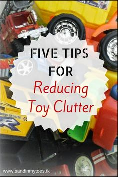 Five tips for decluttering toys