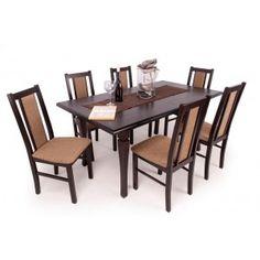 Félix étkező Raffaello asztallal wenge Dining Table, Furniture, Home Decor, Raffaello, Decoration Home, Room Decor, Dinner Table, Home Furnishings, Dining Room Table