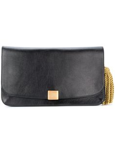GOLDEN GOOSE GOLDEN GOOSE DELUXE BRAND - FRINGED CLUTCH . #goldengoose #bags #leather #clutch #hand bags #