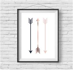 Arrow Print Tribal Art Nursery Printable Digital by PrintAvenue
